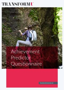Download Our Achievement Predictor Questionnaire Transform University